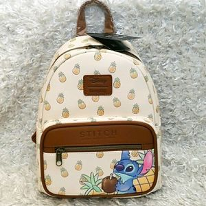 NWT Loungefly Stitch Pineapple mini backpack